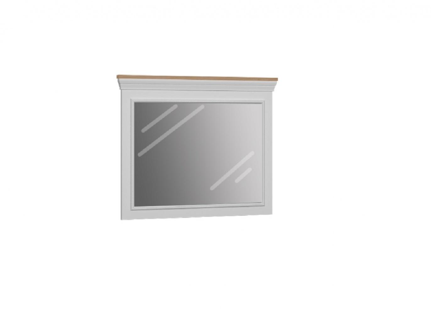 Almila Wandspiegel mit Rahmen Monte in Weiß