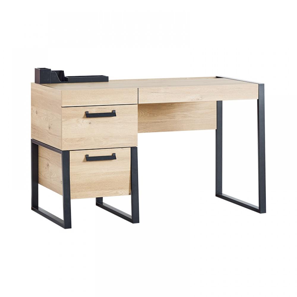 Almila Schreibtisch Loft mit USB Anschluss