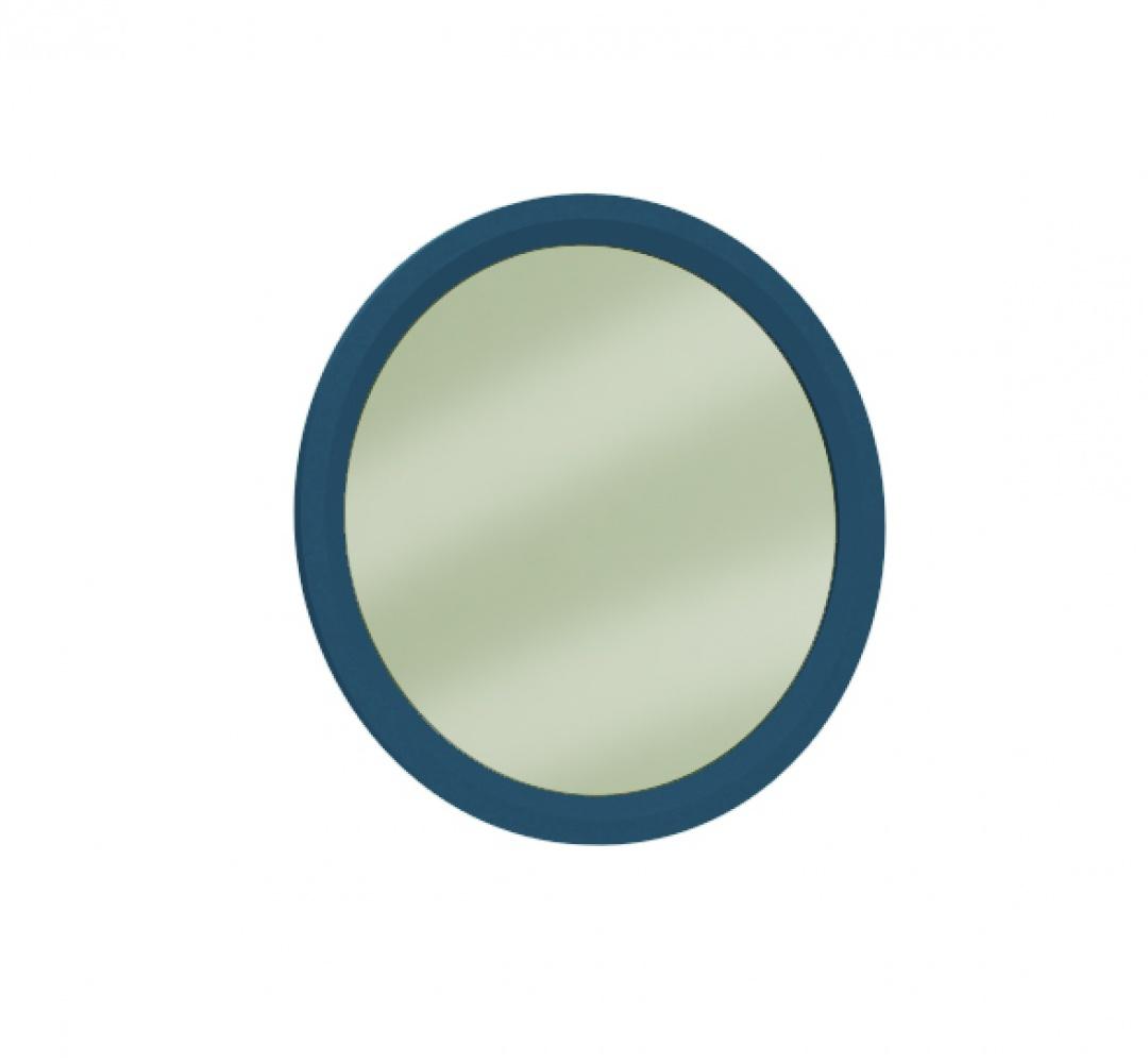 Almila Wandspiegel rund Sapphire 70x70