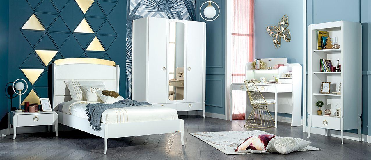 Almila Design Jugendzimmer Bright 120x200 cm
