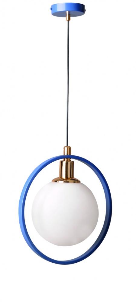 Almila Hängelampe Elegant Blue in modernem Design