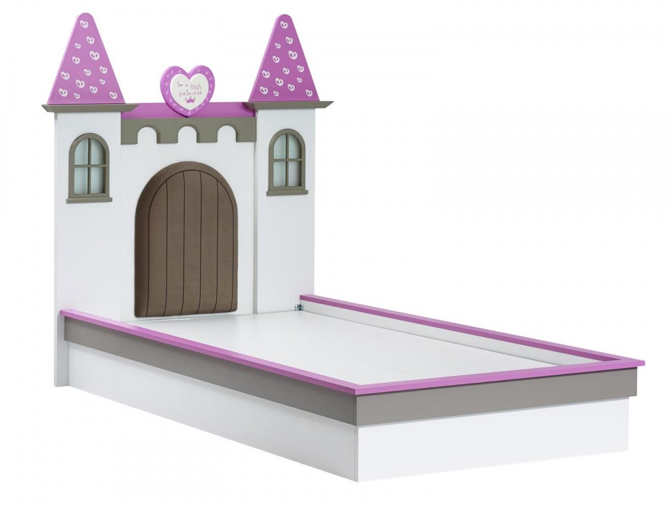 Almila Mädchen Kinderbett Prinzessin Arce 100x200