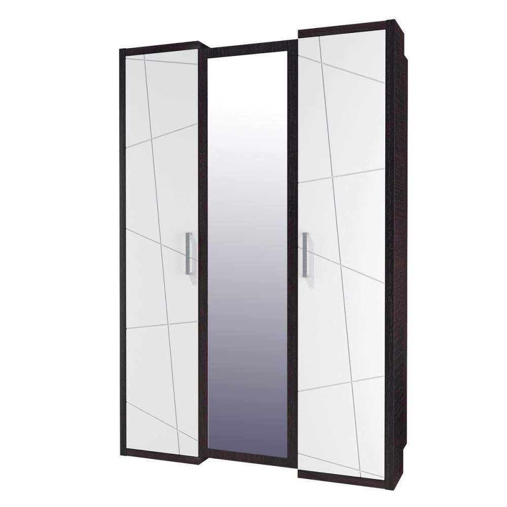 Kleiderschrank mit Spiegel Barcelona 3-türig