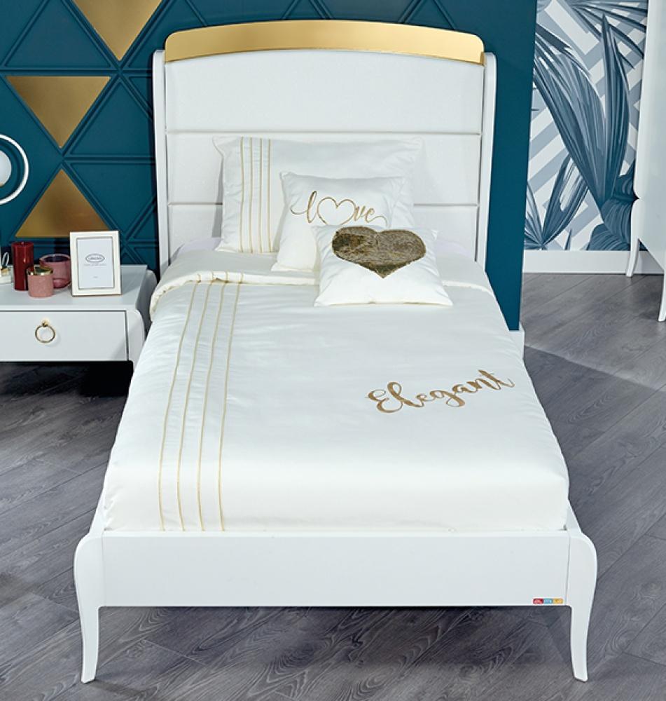 Almila Design Jugendzimmer Elegant White 3-teilig