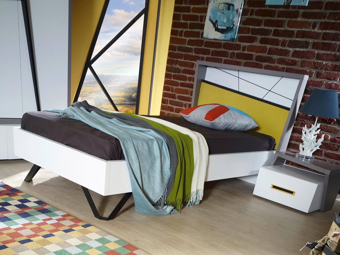 Almila Design Jugendbett Angle in 100x200