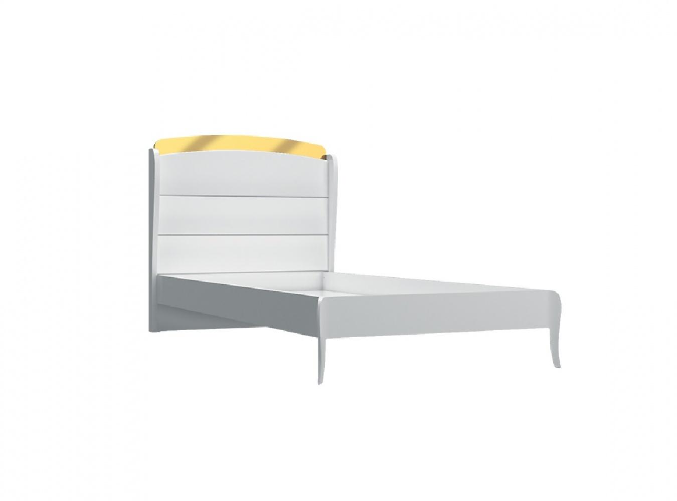 Almila Jugendbett Elegant White 100x200