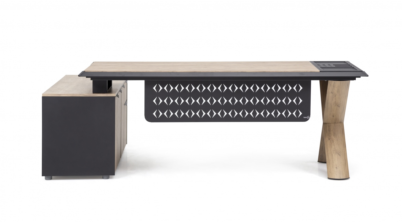 Ovali  Design Schreibtisch in verschiedenen Größen Pluto