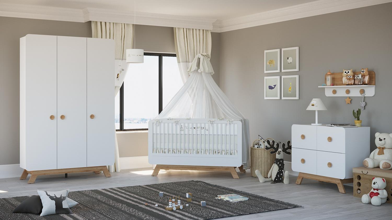 Almila Babyzimmer Set Baby Cute 4-teilig