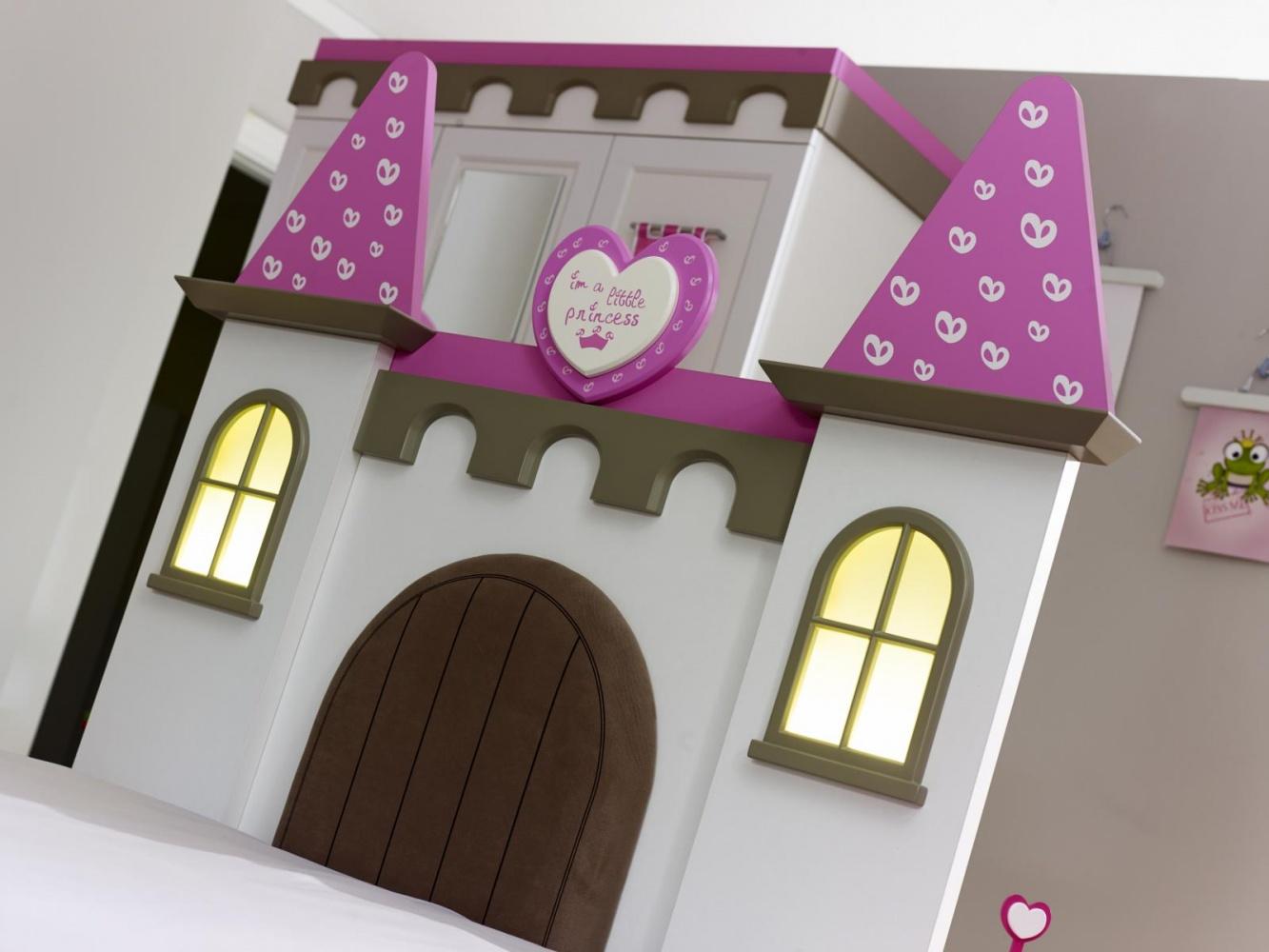 Almila Kinderzimmer komplett Set Prinzessin Arce  3-teilig