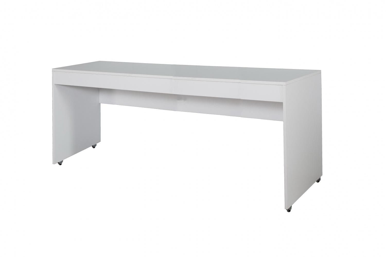 Moderner Schreibtisch Puzzle in  Weiß