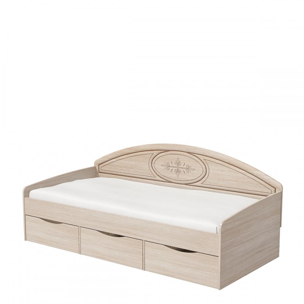 Bett mit Stauraum 90x200 mit Lattenrost Vasilica