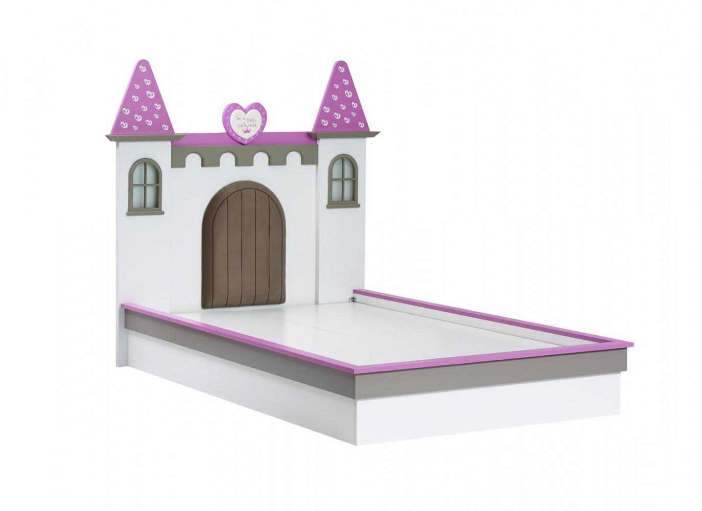 Almila Mädchen Kinderbett Prinzessin Arce  120x200