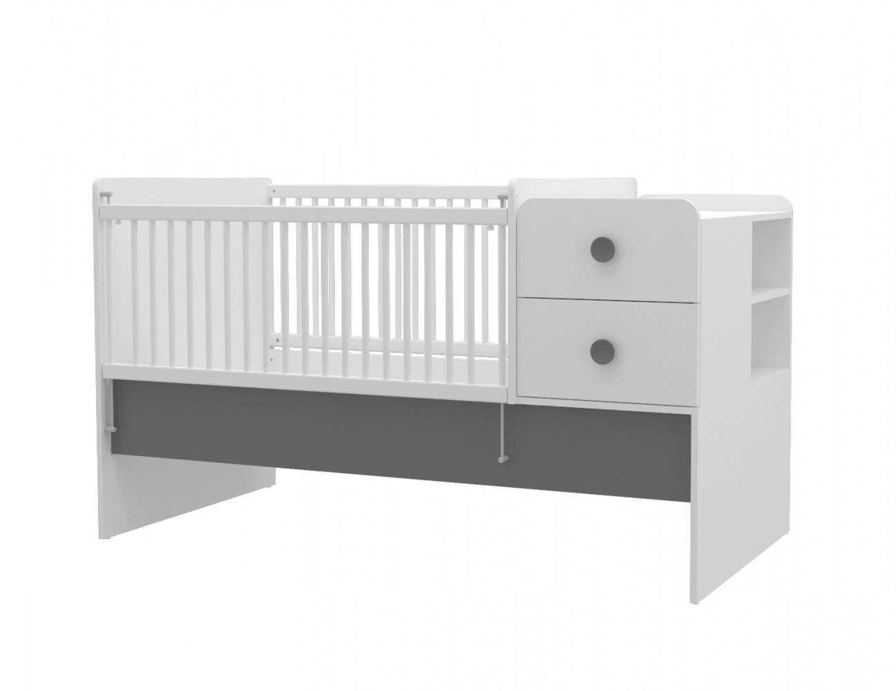 Almila Babybett Baby Cute vergrößerbar 80x130-180