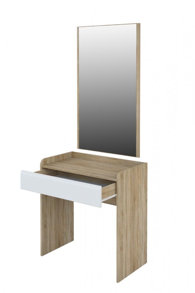 Schminktisch mit Spiegel Eiche Sonoma Leonardo