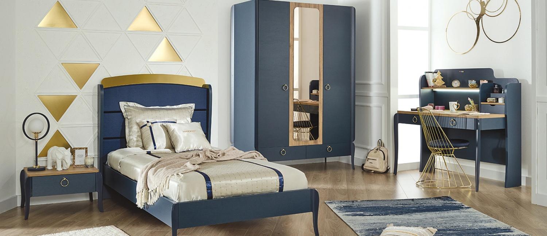 Almila Design Jugendbett Sapphire 120x200
