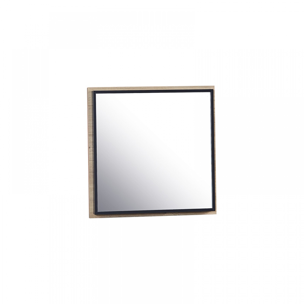 Almila Wandspiegel Loft quadratisch
